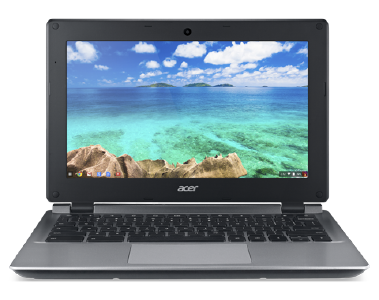 Photo of the Acer Chromebook 11 C730